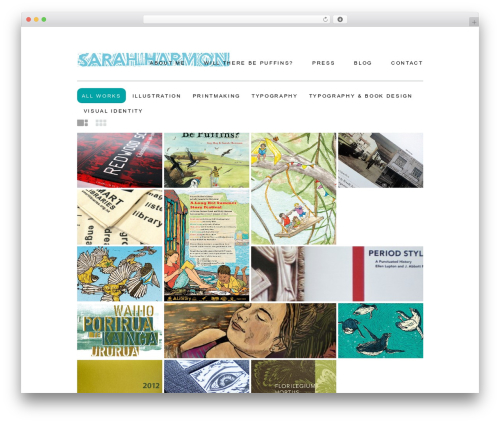 WordPress template Daisho - sarahharmon.co.nz
