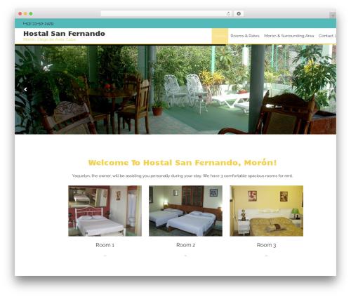 AccessPress Staple Pro theme WordPress - sanfernandocuba.com