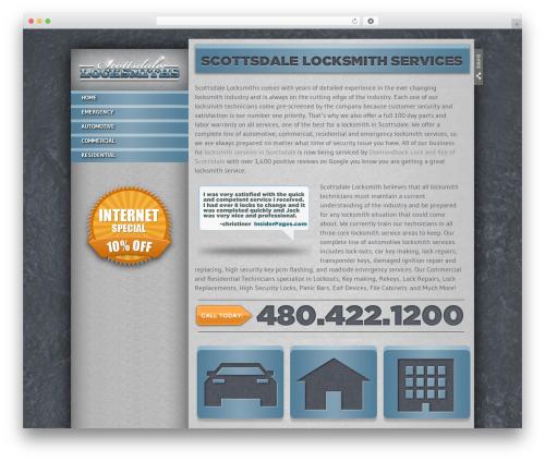 Foundation automotive WordPress theme - scottsdalelocksmiths.net