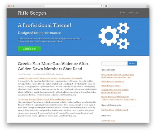 Kore theme WordPress - scope-link.biz