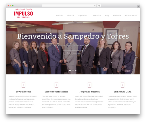 Nestor WordPress theme - sampedroytorres.com
