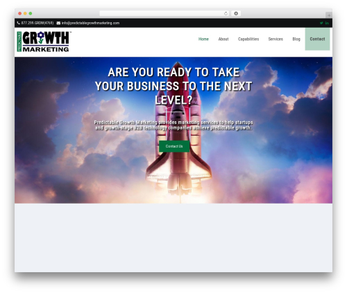 Prevalent Pro Theme Wordpress Portfolio By Grace Themes