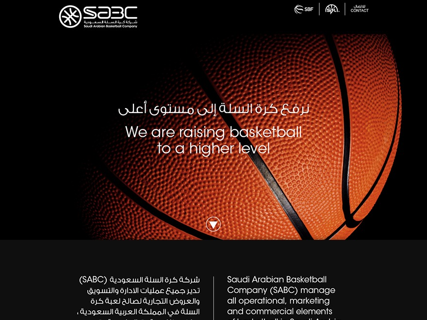 Sabc WordPress website template
