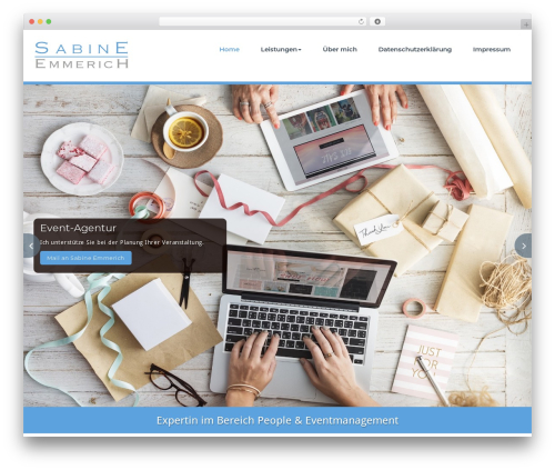 Template WordPress BusiProf Pro - sabine-emmerich.de