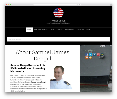 Theme WordPress Sixteen Nine Pro Theme - samueldengel.com