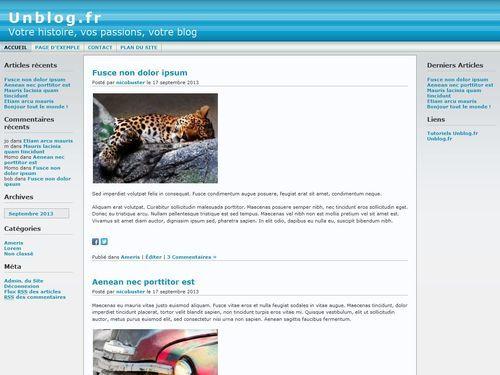 Andreas WordPress theme