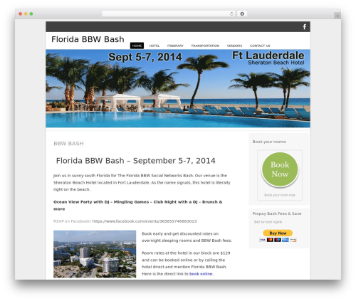 Bota theme WordPress free - floridabbwbash.com