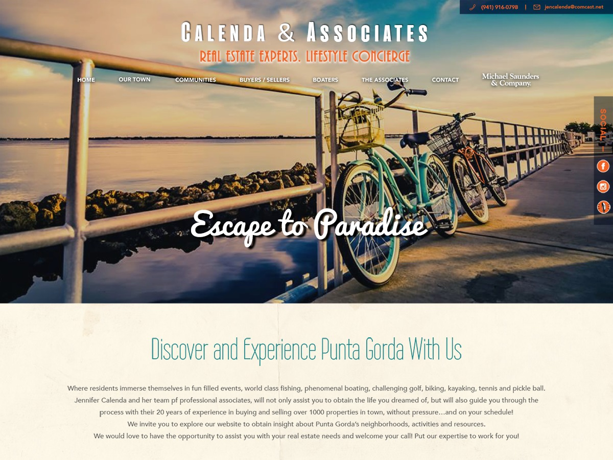 Calenda Child Theme real estate WordPress theme