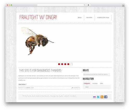 cleancorp template WordPress - fraughtwithdanger.com