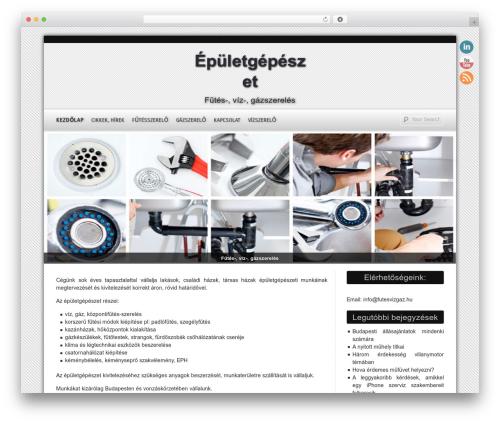 D5 Smartia free WordPress theme - futesvizgaz.hu