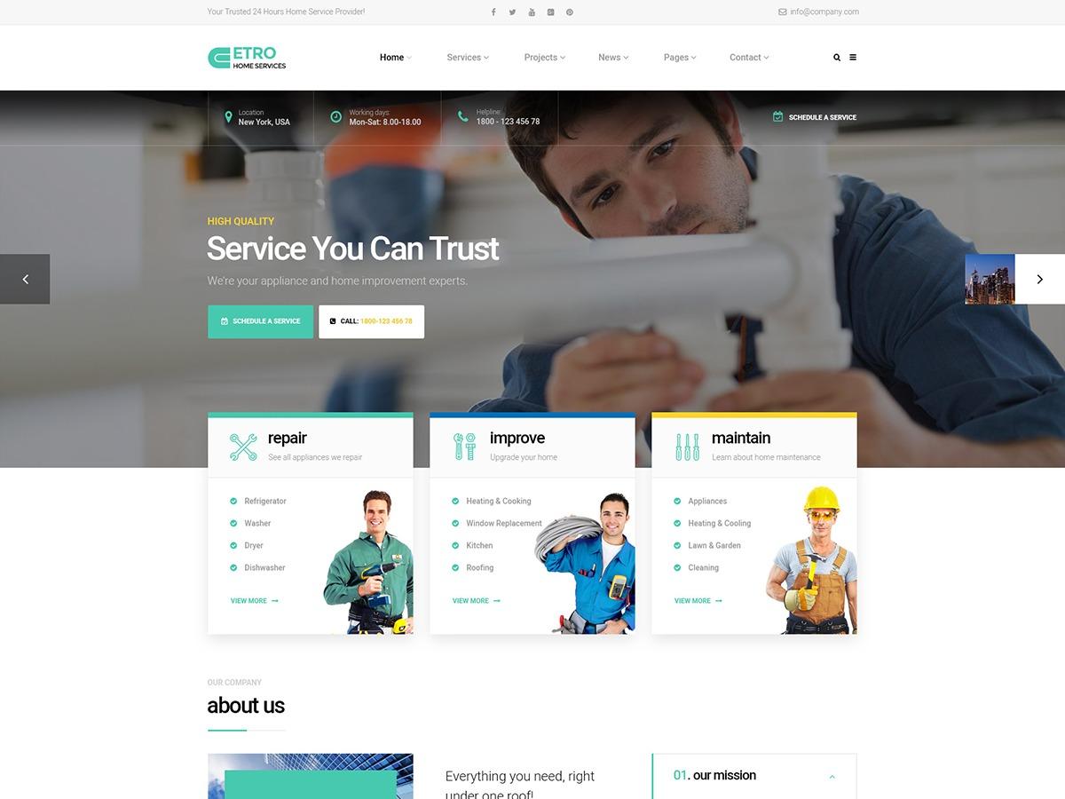 etro WordPress shop theme