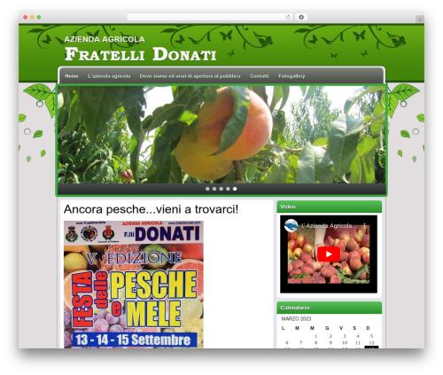 Greenblog WordPress blog template - fratellidonati.com