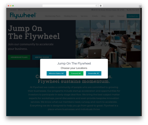JointsWP - Sass WordPress theme - flywheelcoworking.com