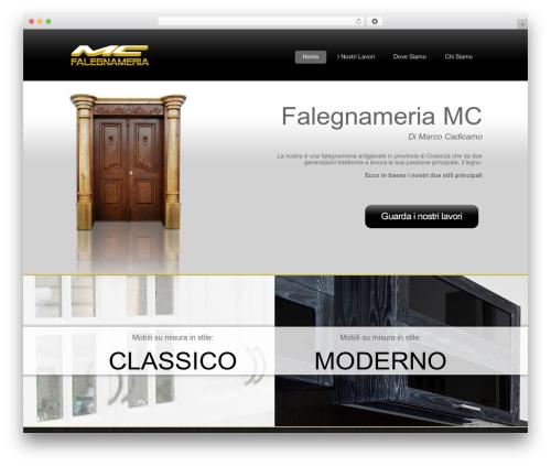 Lightning free WP theme - falegnameriacadicamo.it