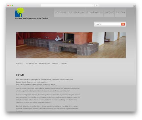 LizardBusiness WordPress template for business - fischerverfahrenstechnik.ch