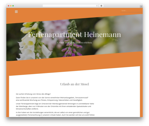 Oblique free WP theme - ferienapartment-winningen.de