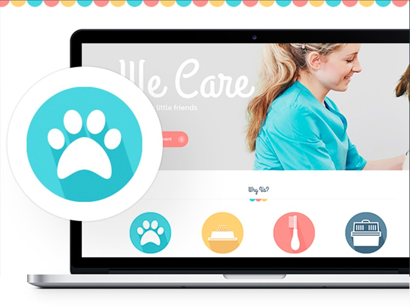 Pet template WordPress
