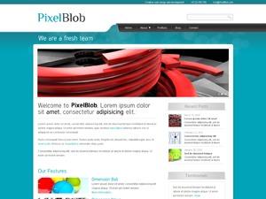 PixelBlob WordPress portfolio theme