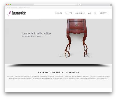 Retigo WordPress theme - fumante.it
