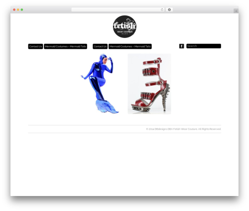 Template WordPress Grid Theme Responsive - fetishwearcouture.com