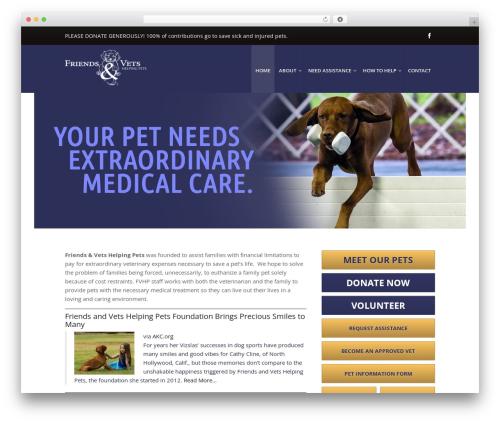 Theme WordPress Atlas PMPRO - friendsandvetshelpingpets.org