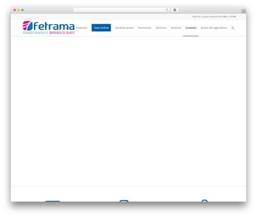 Theme WordPress Enfold - fetrama.com