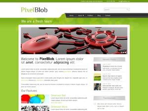 Theme WordPress Pixelblob Green