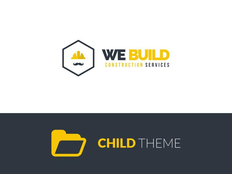 WeBuild Child WordPress template for business