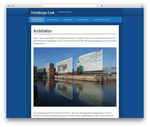 WordPress theme Pinboard - fotodesign-lenk.de