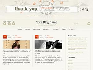 WP Anniversary WordPress theme