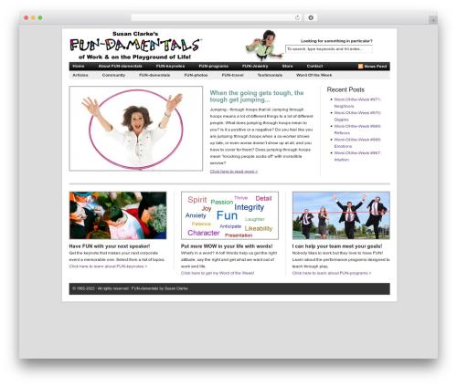 WP template Revolution - fun-damentals.com