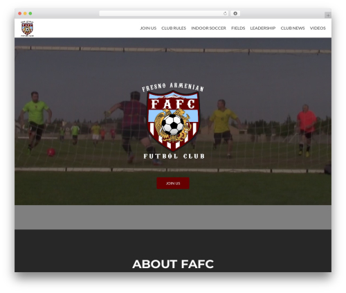 Zerif Lite WordPress theme free download - fafcsoccer.com