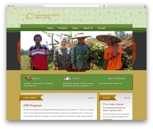 Bordeaux Premium Theme theme WordPress - latransa-citra.com