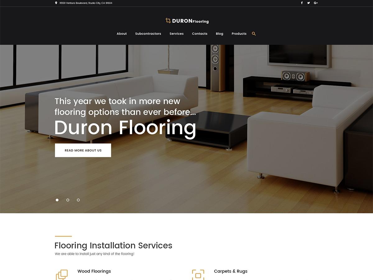 Duron_Flooring WordPress theme