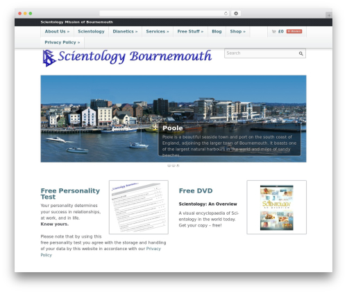 Emporium top WordPress theme - scientologypoole.org.uk