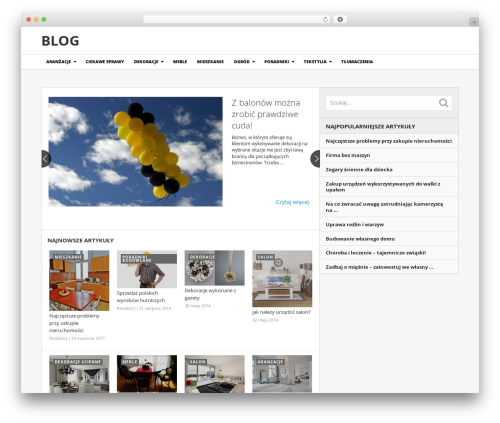 NewsToday by MyThemeShop WordPress theme - schaefer-boutique.pl