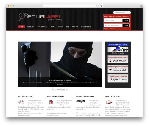 Pinshop WordPress store theme - securlabel.com