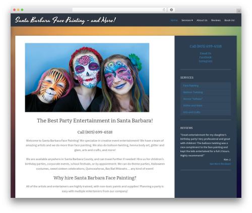 Theme WordPress Story-Child - santabarbarafacepainting.com