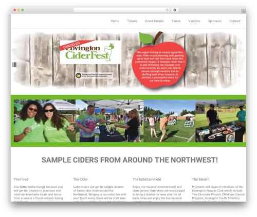 WordPress template Rambo - sausageandciderfest.com