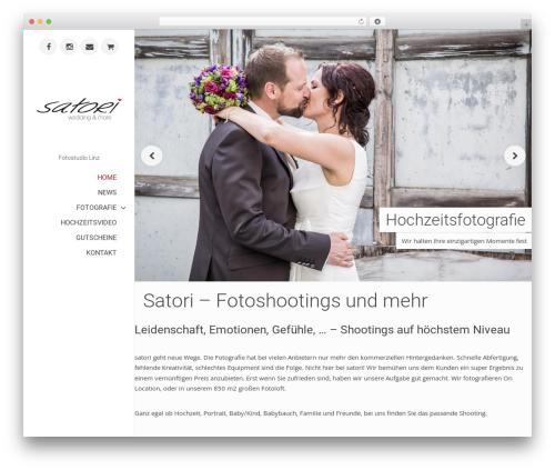 WordPress website template ePix - satori.at