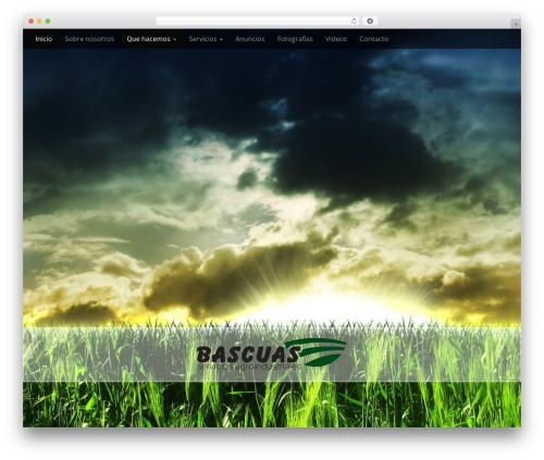 Arcade Basic WordPress template free - serviciosagroindustrialesbascuas.com