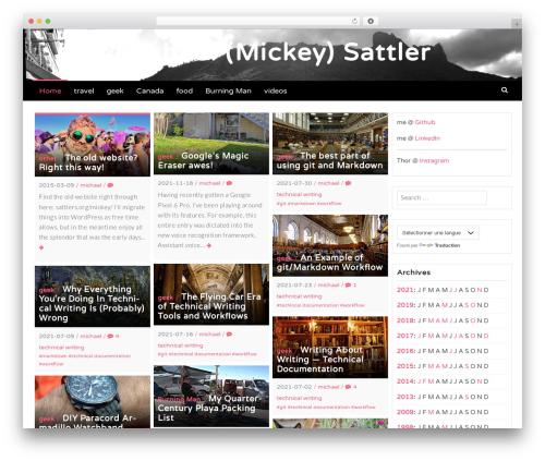 Latest WordPress theme download - sattlers.org