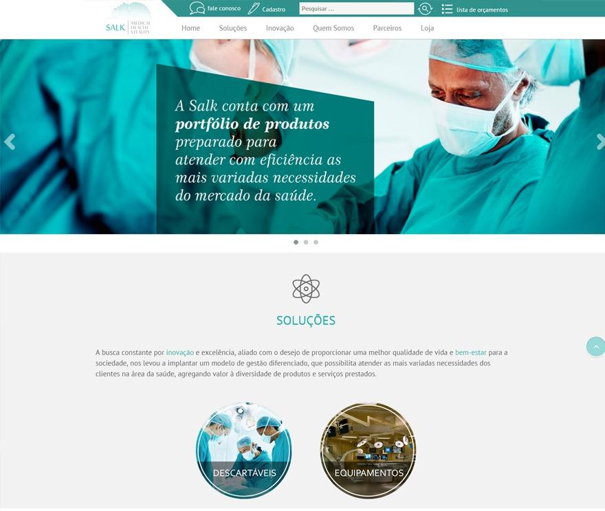 Salk Medical - Child Theme by Twenty Thirteen gym WordPress theme