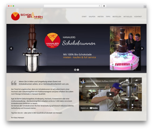 Theme WordPress !LesPaul - schokobrunnen.at