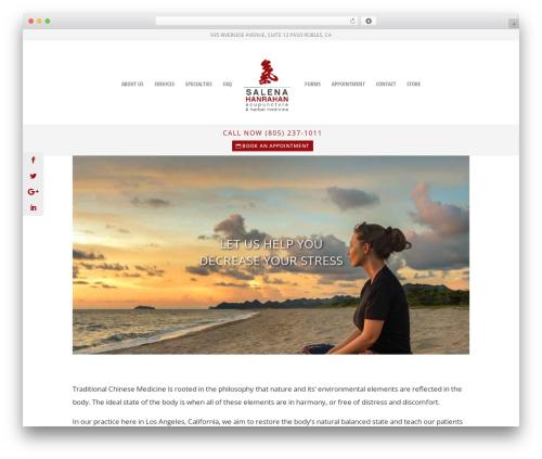 Divi WordPress ecommerce theme - salenahanrahan.com