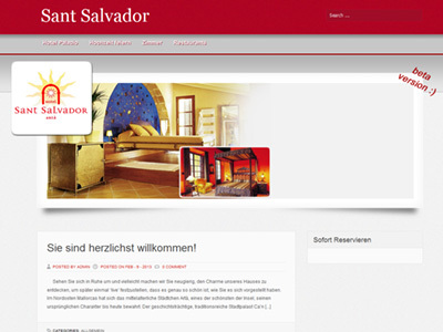 Sant Salvador WordPress theme