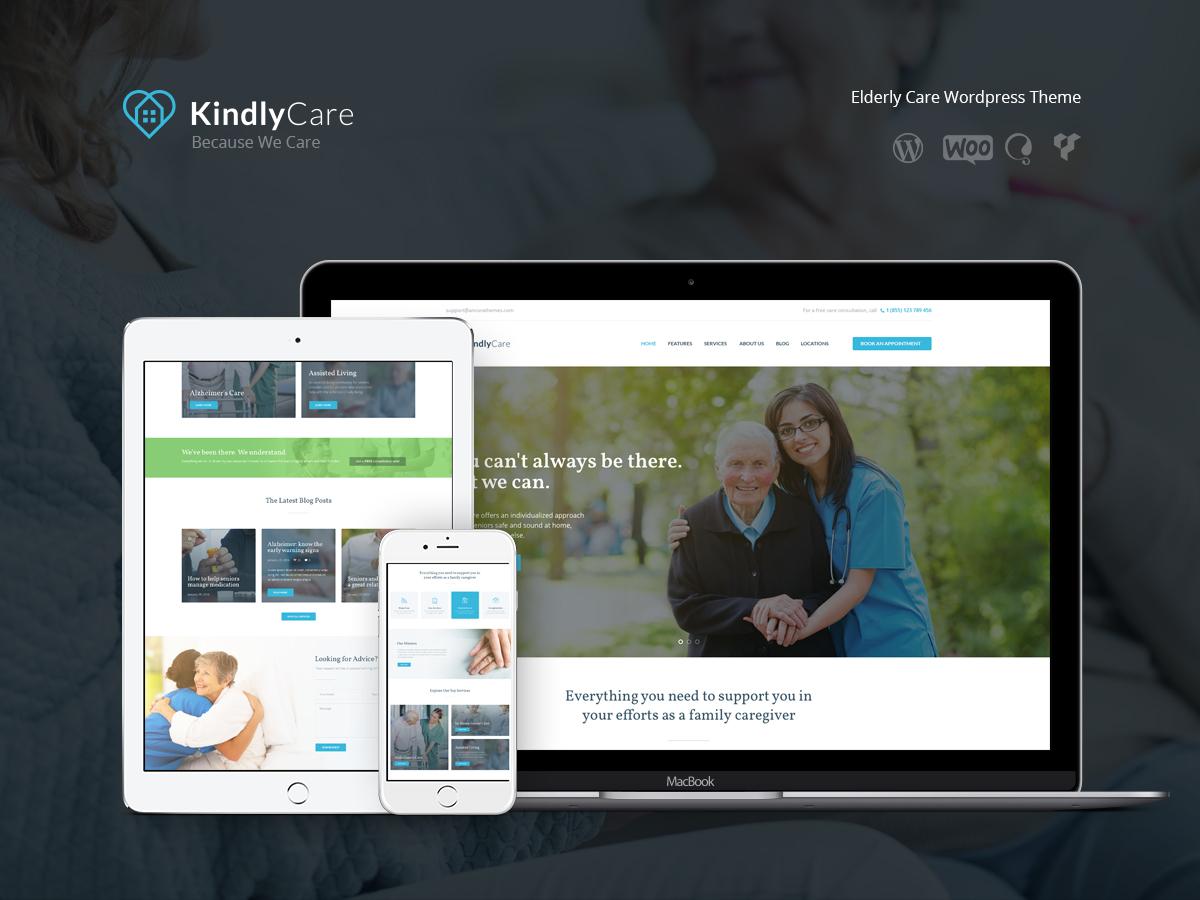 Theme WordPress KindlyCare Child theme