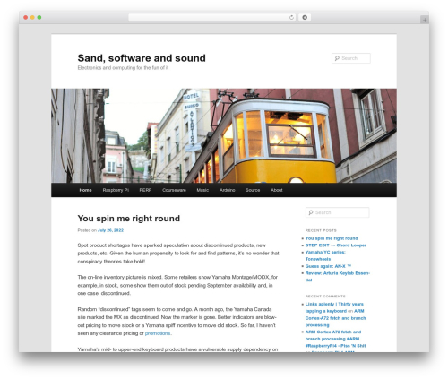 Twenty Eleven WordPress template free download - sandsoftwaresound.net