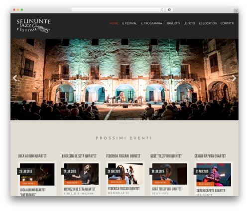 Berliner best WordPress template - selinuntejazzfestival.it