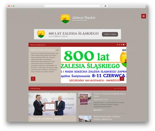 Forca Premium Theme WP theme - solectwo.zalesieslaskie.pl